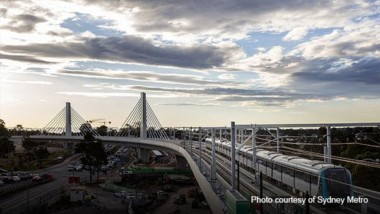 Sydney's Skytrain Bridge wins 2018 Project of the Year